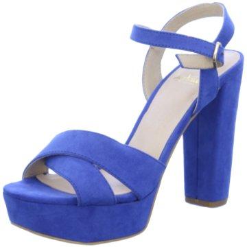 La Strada Modische High Heels blau