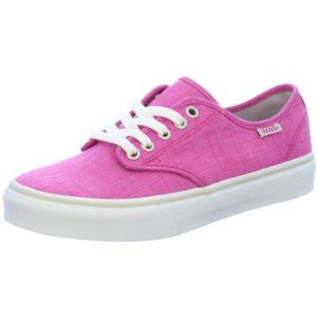 Vans Skaterschuh pink