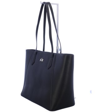 La Martina Shopper schwarz