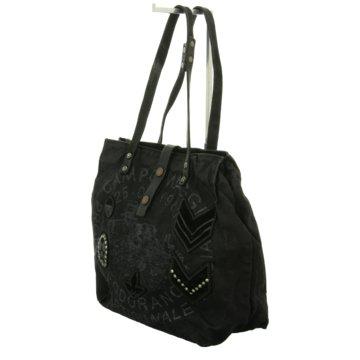 Campomaggi Handtasche schwarz