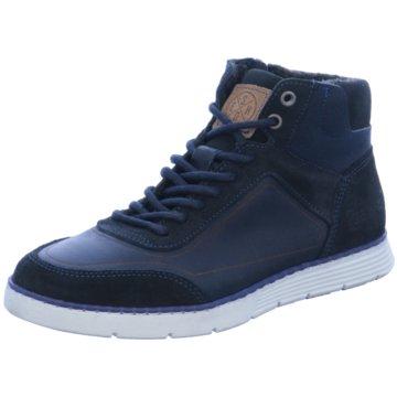 Kid boxer Sneaker High blau