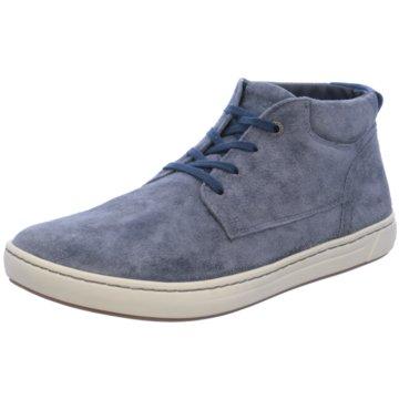 Birkenstock Schnürstiefelette blau