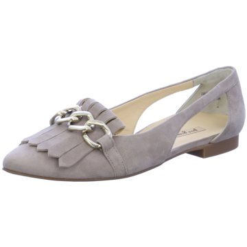 Paul Green Eleganter Ballerina grau