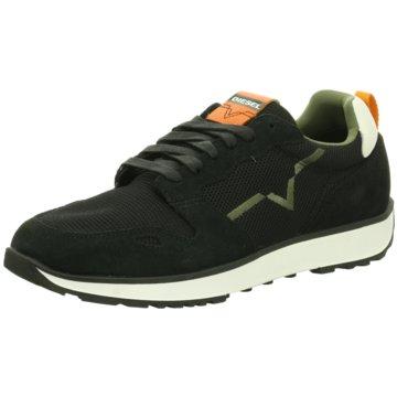 Diesel Sneaker Low schwarz