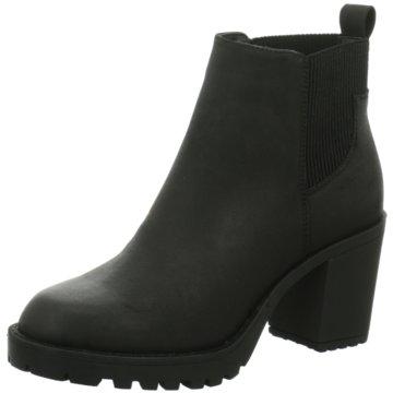 Only A Shoes Plateau Stiefelette schwarz
