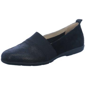 Caprice Komfort Slipper schwarz