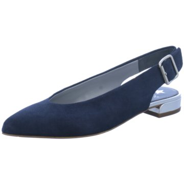 Maripé Modische Ballerinas blau