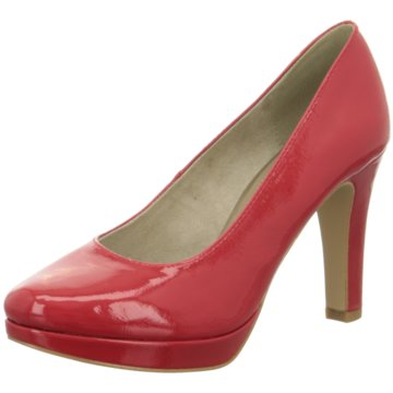 s.Oliver Plateau Pumps rot