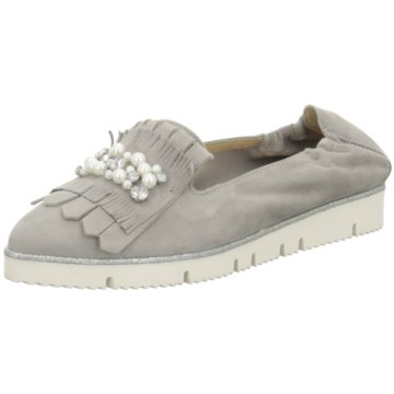 Alpe Woman Shoes Klassischer Slipper grau