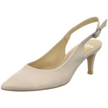 Perlato Slingpumps beige