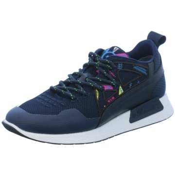 Barracuda Sneaker Low blau