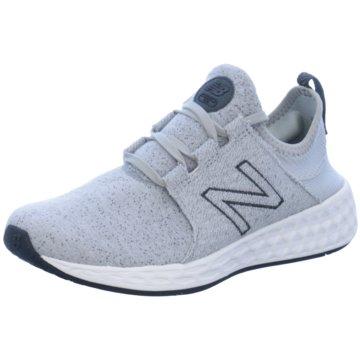 New Balance Sportlicher Slipper grau