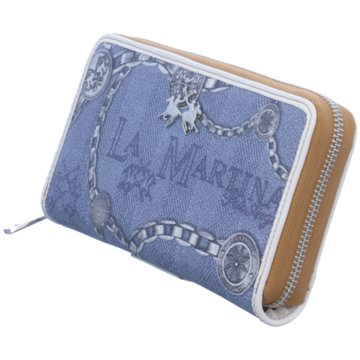 La Martina Geldbörse blau