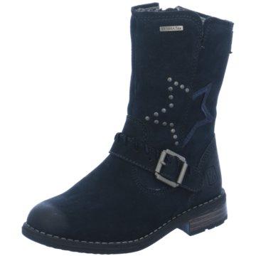 Zebra Hoher Stiefel blau