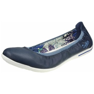 Dockers by Gerli Faltbarer Ballerina blau