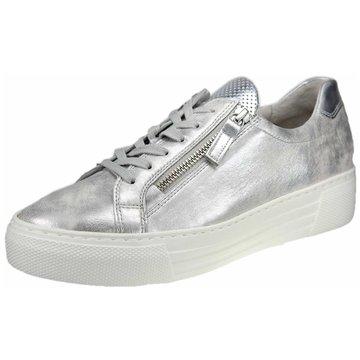Gabor Sneaker Low silber