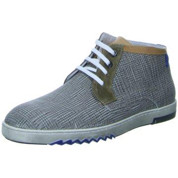 Floris van Bommel Sneaker High grau