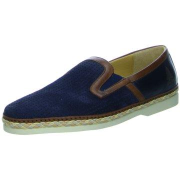 GALIZIO TORRESI Klassischer Slipper blau