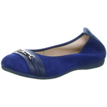 La Ballerina Eleganter Ballerina blau