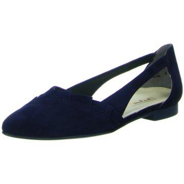 Paul Green Eleganter Ballerina blau