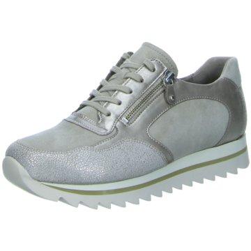 Gabor Sportlicher Schnürschuh grau