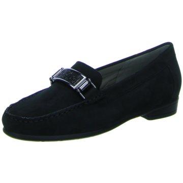 ara Klassischer Slipper schwarz