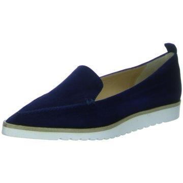 Perlato Klassischer Slipper blau