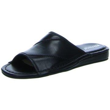 Fortuna Komfort Sandale schwarz