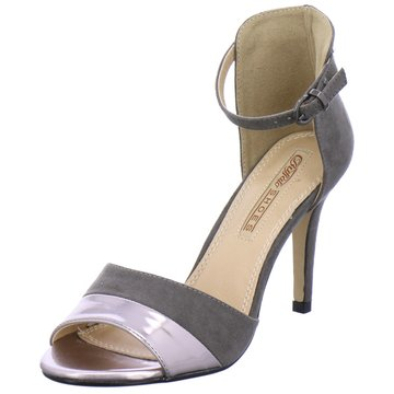 Buffalo Modische High Heels grau