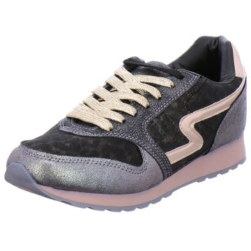 Monshoe Sneaker Low schwarz