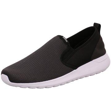 adidas Sportlicher Slipper schwarz
