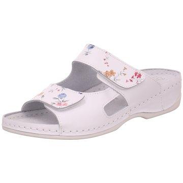 Dr. Feet Komfort Pantolette weiß