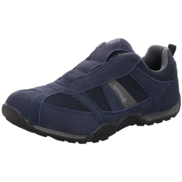 Brütting Komfort Slipper blau