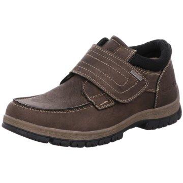 BM Footwear Mokassin Slipper braun