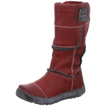 Super In Komfort Stiefel rot