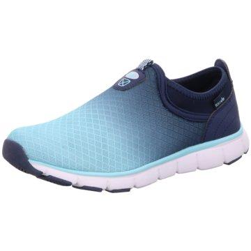 Lico Sportlicher Slipper blau