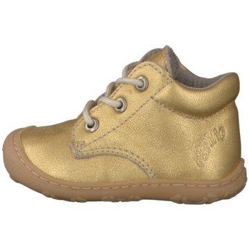 Ricosta Schnürstiefel gold