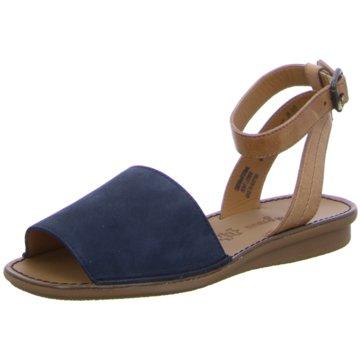 Paul Green Sandale blau