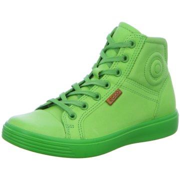 Ecco Sneaker High grün