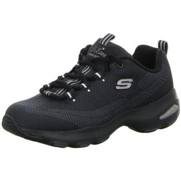 Skechers Sportlicher Schnürschuh schwarz