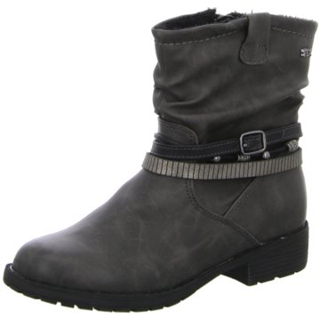 Indigo Klassischer Stiefel grau