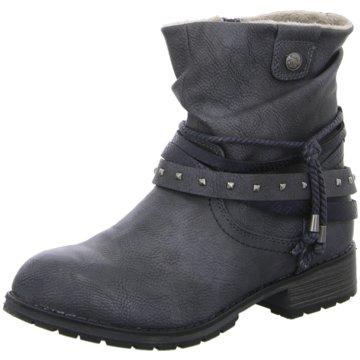 Pep Step Halbhoher Stiefel blau