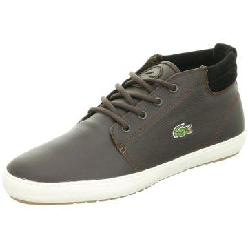 Lacoste Sneaker High braun