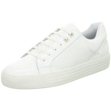 Poelman Modische Sneaker weiß