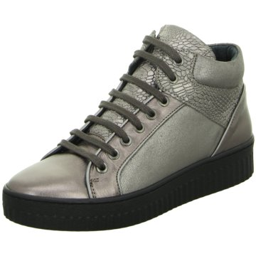 ShoeCOLATE Sneaker High silber