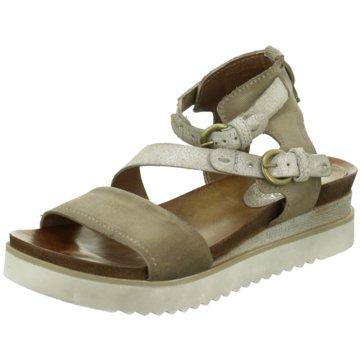 ELENA Italy Modische Sandaletten beige