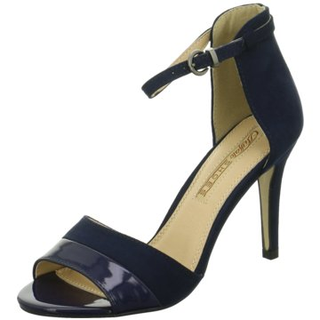 Buffalo Modische High Heels blau