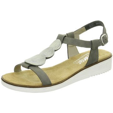 Rieker Sandale grau