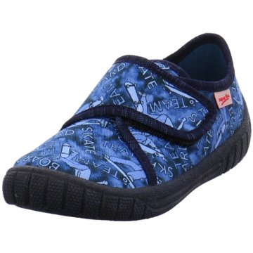 Legero Hausschuh blau