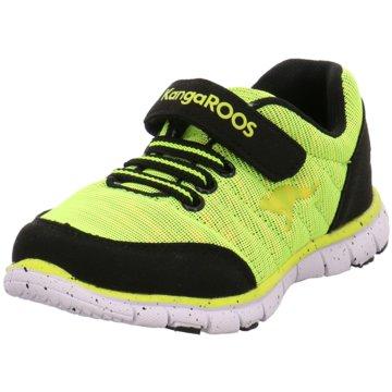 KangaROOS Sportlicher Schnürschuh gelb